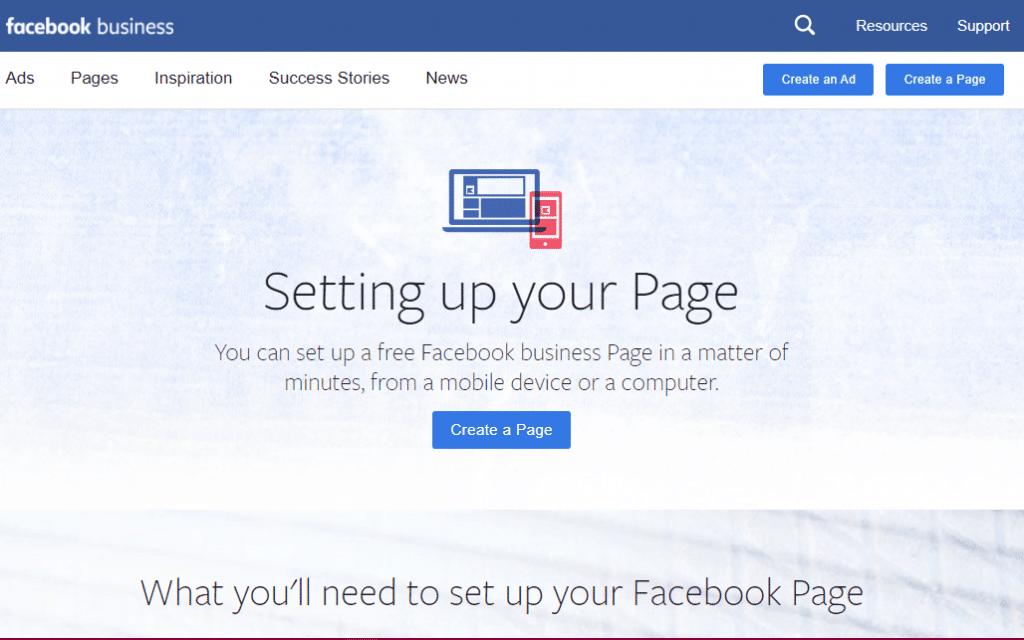 facebook business account