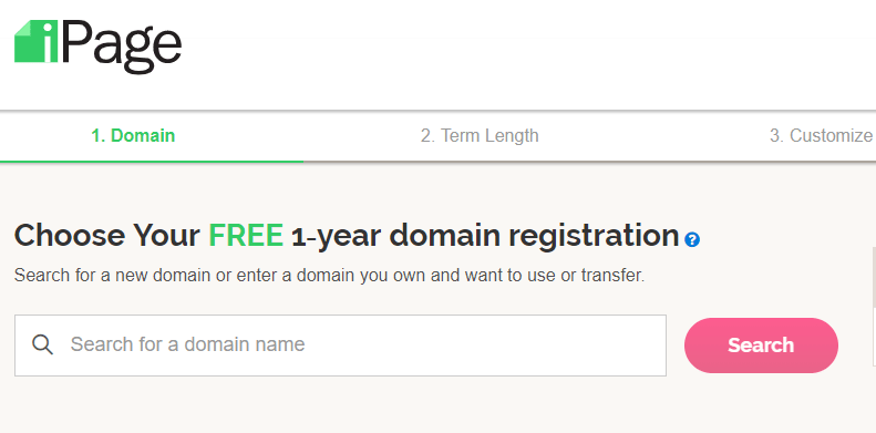 free domain registration